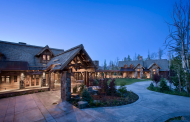 Rustic Elegance In The Yellowstone Club In Big Sky, Montana