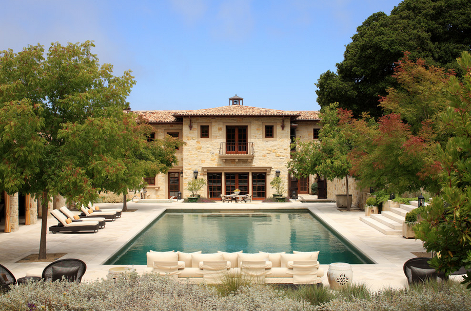 Stunning tuscan inspired mansion in carmel valley ca for Carmel house
