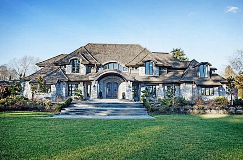 18,000 Square Foot Newly Built Mansion In British Columbia, Canada