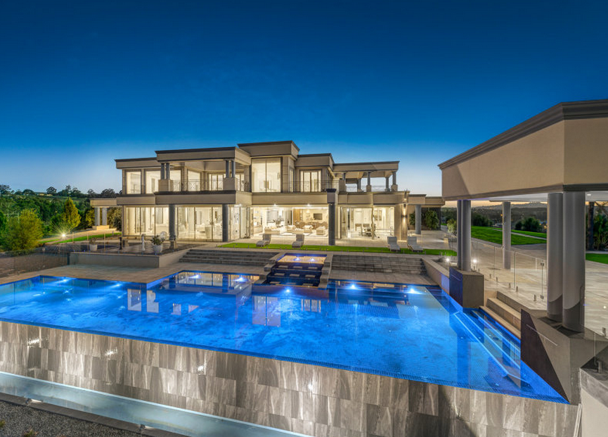 Beautiful Newly Listed Contemporary Mansion In Victoria Australia on Luxury Penthouse Apartment Floor Plans