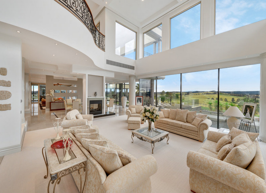 Mansion Living Room >> Beautiful Newly Listed Contemporary Mansion In Victoria, Australia | Homes of the Rich