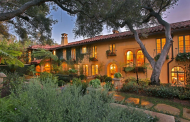 $29.5 Million Newly Listed Mediterranean Estate In Montecito, CA