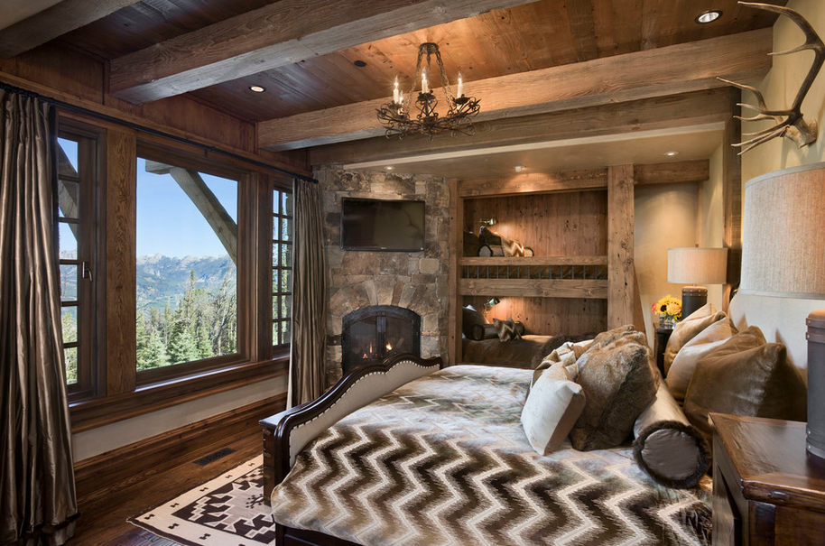 a look at 20 rustic bedrooms