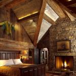 Rustic Bedroom #18