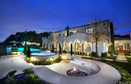 $20.995 Million Newly Listed Mansion In Newport Coast, CA With 25-Car Subterranean Garage