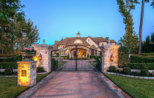 Stone & Stucco Golf Course Mansion In The Woodlands, TX Headed To Auction