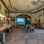Billiards/Golf Simulator Room