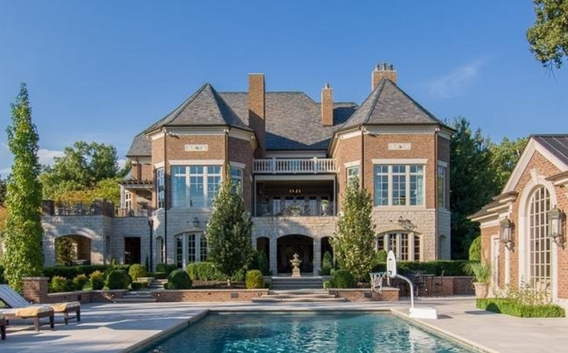 $4.5 Million 19,000 Square Foot Stone & Brick Mansion In Calvert City, KY
