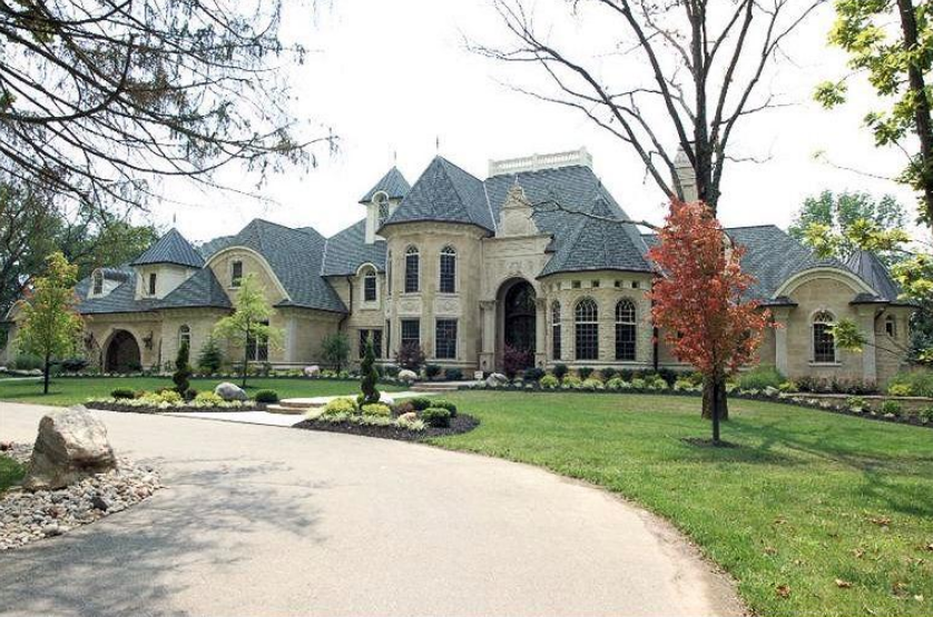 18 000 Square Foot European Inspired Mansion In Cincinnati