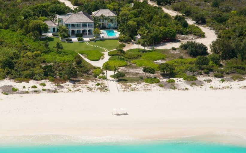 $17.9 Million Beachfront Estate In The Turks & Caicos