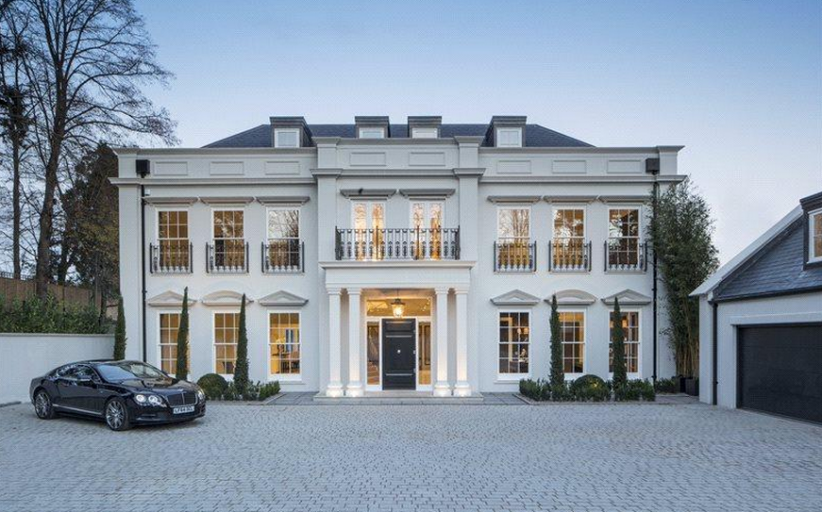 The Mount – A 12,000 Square Foot Newly Built Mansion In Surrey, England