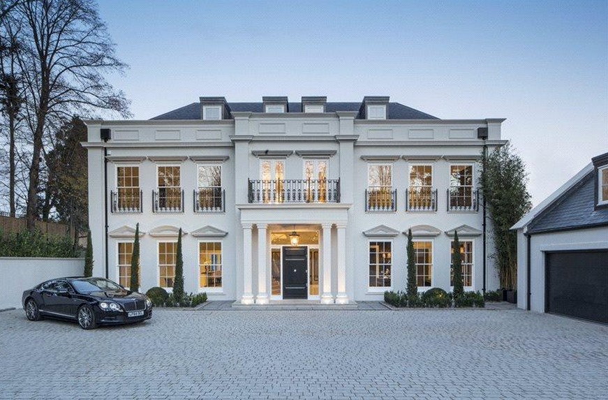 The Mount A 12 000 Square Foot Newly Built Mansion In