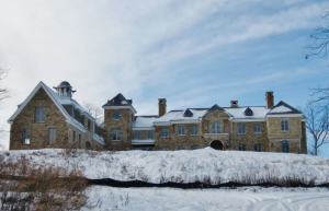 13 000 Square Foot French Country Stone Mansion In Basking