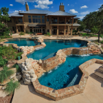 Tiered Swimming Pool #1
