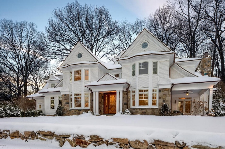 Two $4.395 Million Newly Built Colonial Homes In Riverside, CT