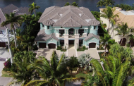$6.295 Million Newly Built Waterfront Home In Highland Beach, FL