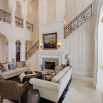 2-story Great Room w/ Staircase