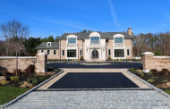 $7.2 Million Newly Built 11,000 Square Foot Brick & Stone Mansion In Old Westbury, NY