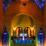 Courtyard w/ Fountain