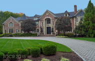 $7.25 Million Brick Mansion In Saddle River, NJ