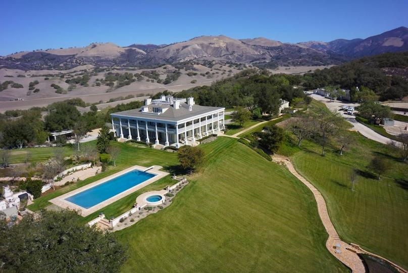 $21.5 Million 250 Acre Estate In Los Olivos, CA