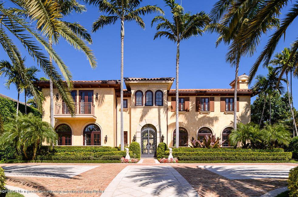 12 5 Million Mediterranean Mansion In Palm Beach Fl