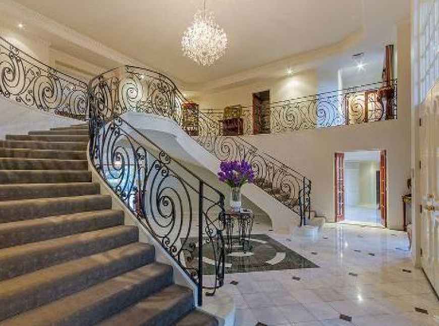 Foyer Stairs Qld : Square foot lakefront mansion in queensland au