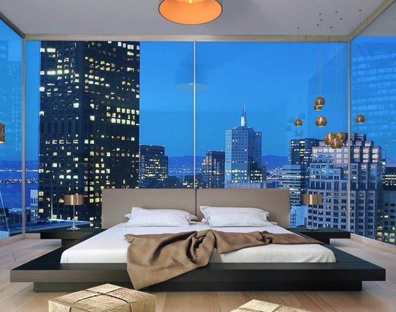 20 Bedrooms With Awesome City Views Homes Of The Rich