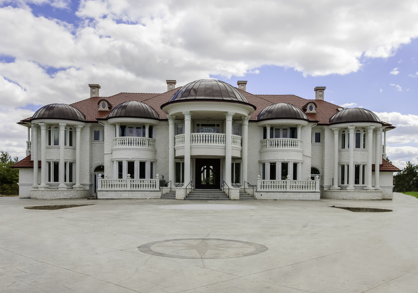 Million Newly Built Brick Mansion In Ontario Canada