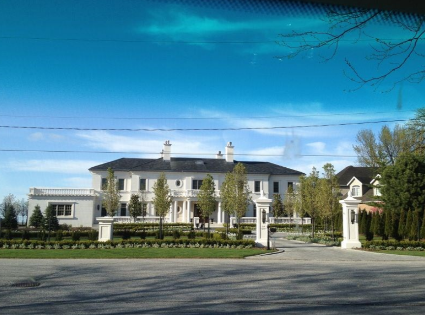 Luxurious Lakefront Limestone Mansion In Ontario, Canada