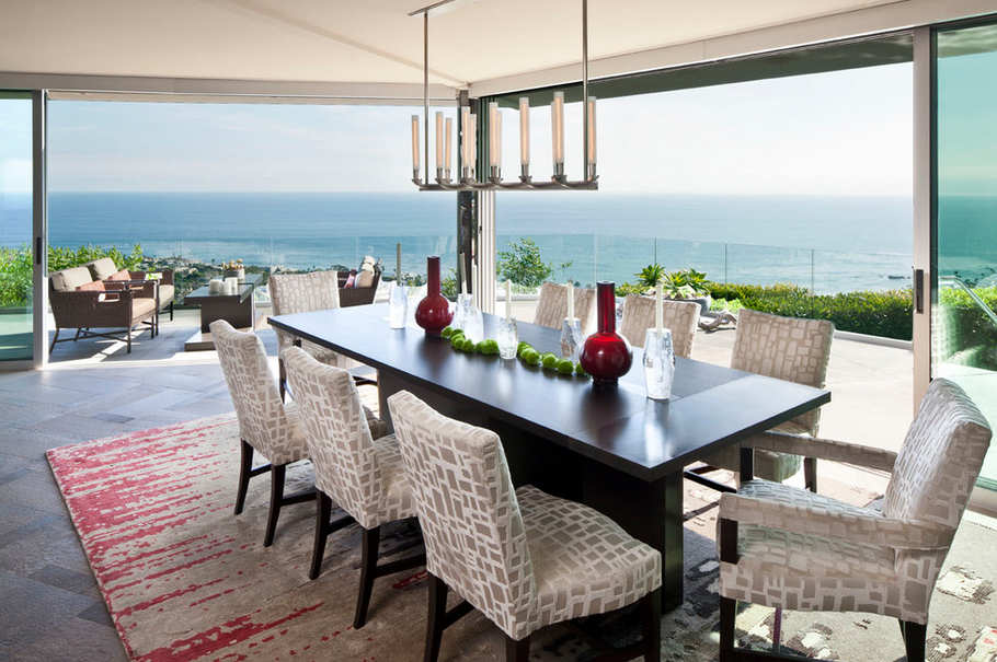 20 Dining Rooms With Amazing Views Homes Of The Rich