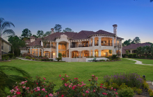 Lakefront Mansion In Houston, TX Designed By Gary Keith Jackson Design, Inc.