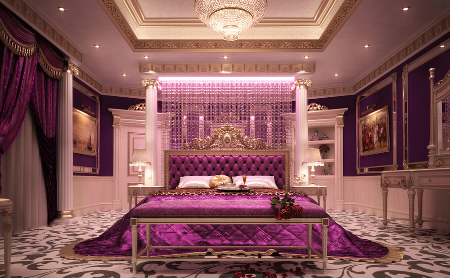 Interior Designer Furniture Palace ~ Ultra luxurious bedrooms homes of the rich