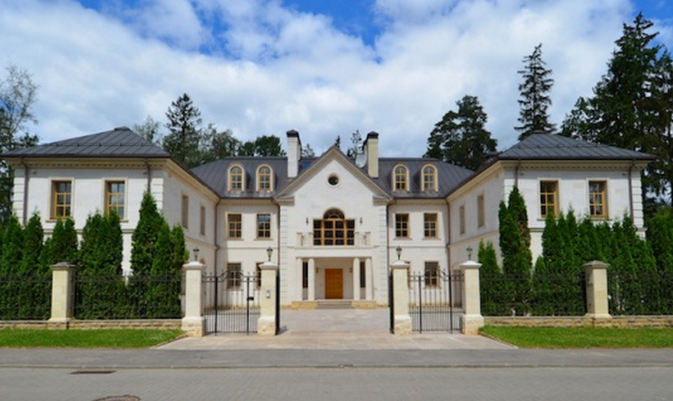 $17.5 Million Newly Built 15,000 Square Foot Mansion In Moscow, Russia