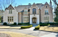 $2.5 Million 11,000 Square Foot Brick & Stone Mansion In Suwanee, GA