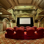 2-story Home Theater
