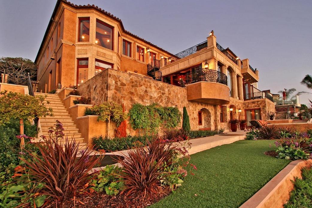 16 9 Million Mediterranean Oceanfront Mansion In La Jolla