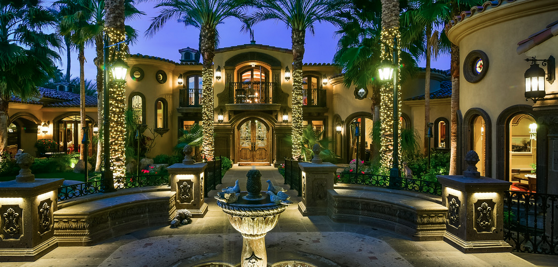 Casa Bella A 16 9 Million Jaw Dropping Mediterranean Mansion In Rancho Mirage Ca on Luxury Home Floor Plans