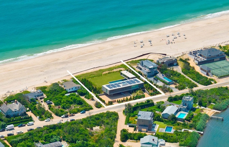$29.95 Million Newly Built Contemporary Oceanfront Home In Water Mill, NY