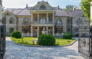 22,000 Square Foot Brick Mansion In Russia