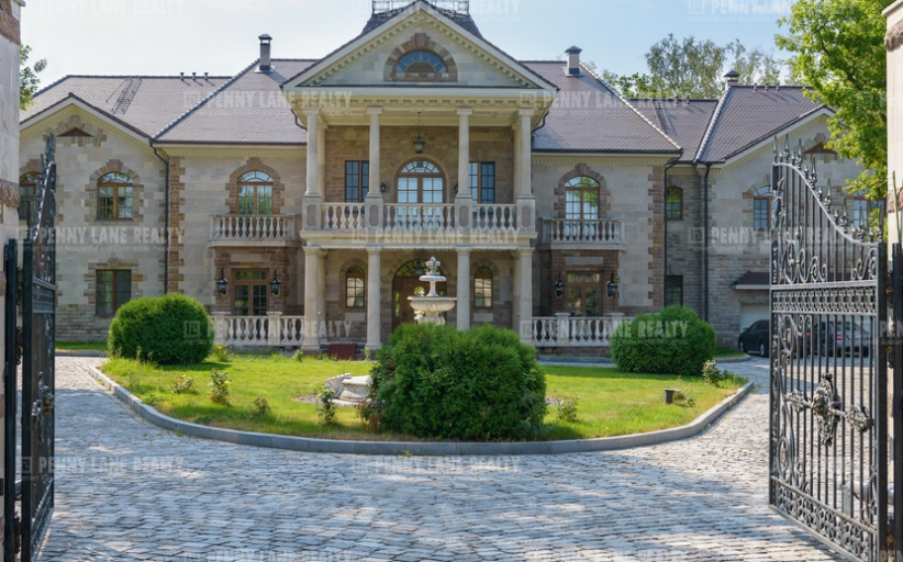 22,000 Square Foot Brick Mansion In Russia