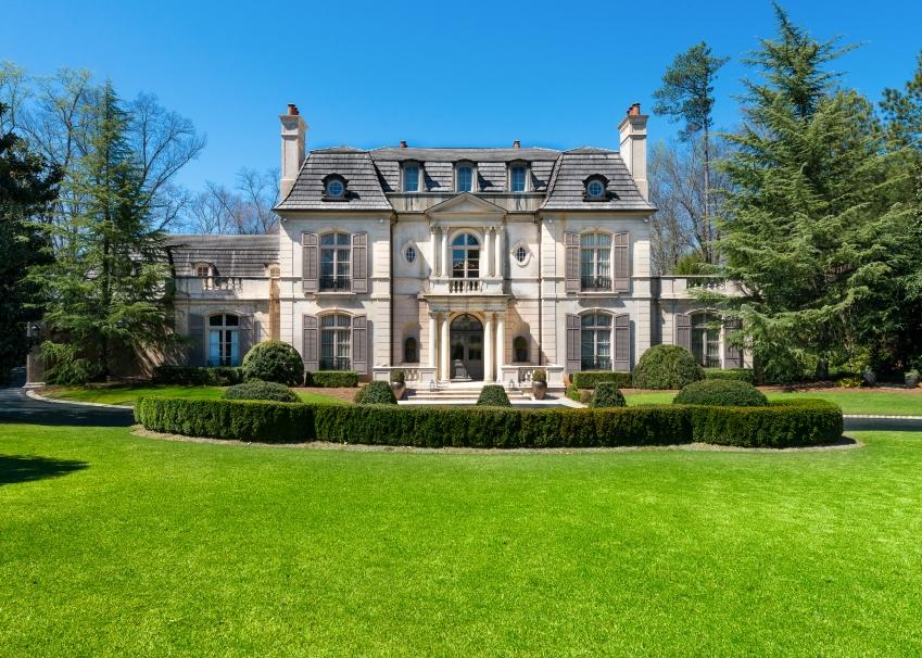 5 9 Million 12 000 Square Foot European Inspired Mansion
