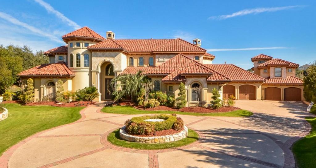 3 5 milllion mediterranean estate in austin tx homes for Texas mediterranean style homes