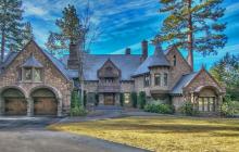$26 Million Castle-Like Lakefront Home In Incline Village, NV