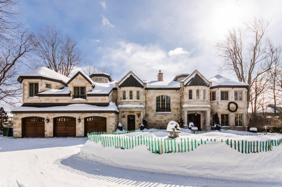6 25 Million Waterfront Stone Mansion In Montreal Canada