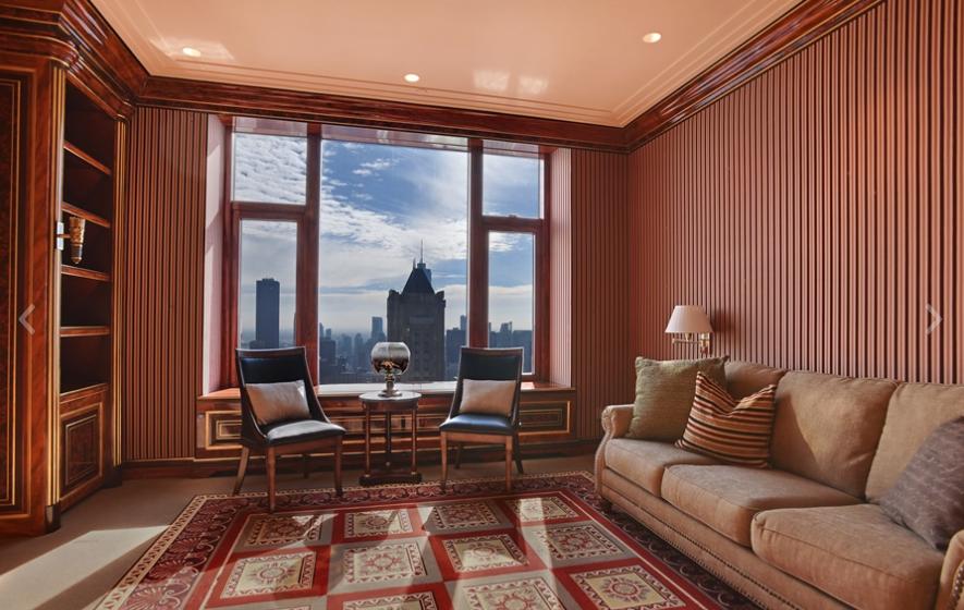 6 4 Million Duplex Penthouse Atop The Four Seasons Hotel