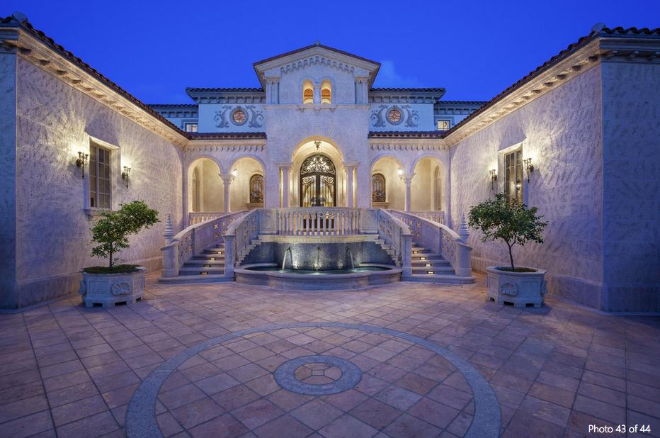 $22.495 Million Ocean-to-Intracoastal Mediterranean Estate In Manalapan, FL