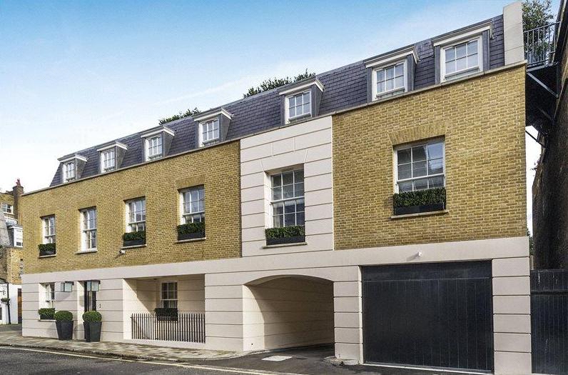 £42.5 Million Brick & Stone Mansion In London, England