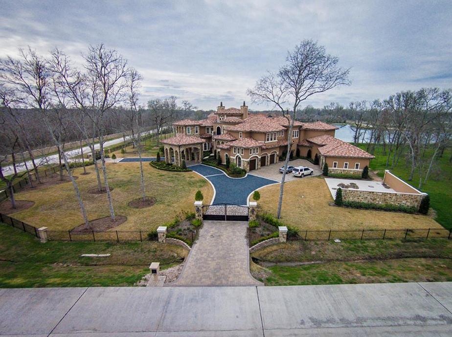 13,000 Square Foot Stone & Stucco Mansion In Richmond, TX Re-Listed