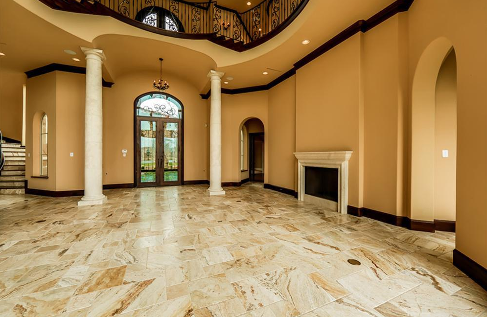 13 000 Square Foot Stone Stucco Mansion In Richmond Tx